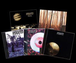 5 CD bundle, Anekdoten's 5 studio albums. Includes signed poster!