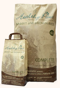 Healthy Paws Rabbit & Brown Rice Adult