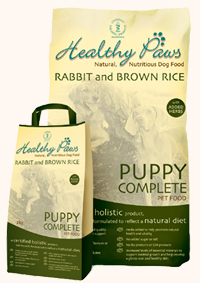 Healthy Paws Rabbit & Brown Rice Puppy