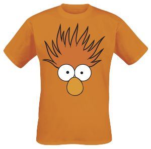 Muppets - Beaker - Orange T-Shirt - (L)