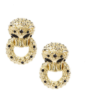 "Cute ""leopard""earrings."