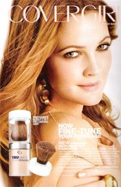 Cover girl True blend Micro mineral foundation.