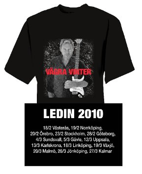 TOMAS LEDIN - T-SHIRT, VGRA VINTER TOUR -10