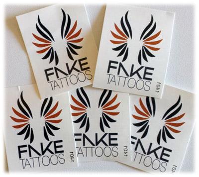 Fake Tattoos - Scandinavian temporary tattoos - Design your own ...