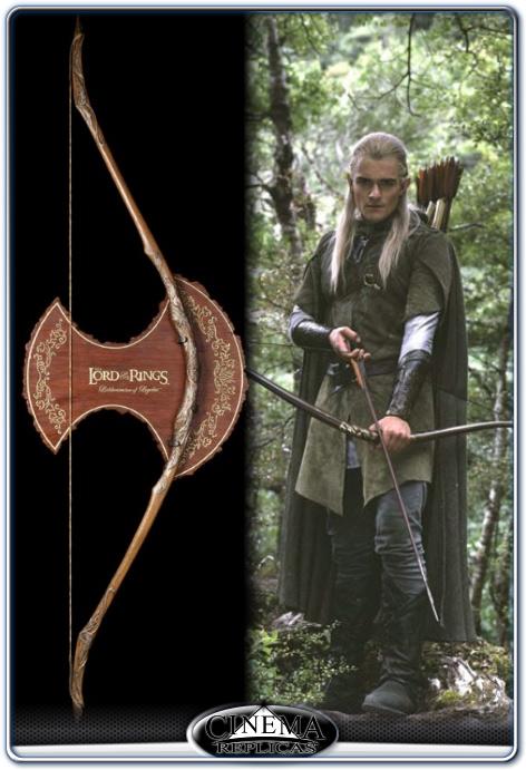 Cinema Replicas - Lothlorien Bow of Legolas Scale 1:1 Replica