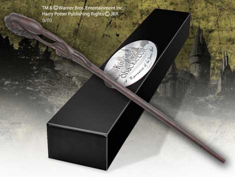 Cinema replicas the wand of kingsley shacklebolt for Harry potter elm wand
