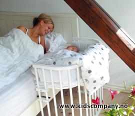 Babyseng til å feste på seng