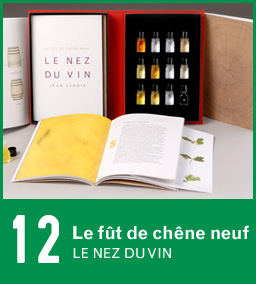 Le Nez du Vin oak aromas