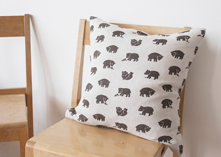 BJORN LINEN CUSHION COVER