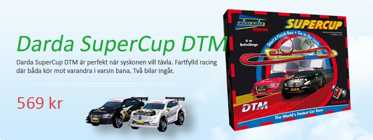 Dubbel glädje med SuperCup   DTM, möt varandra på banan, vem kommer först i mål?