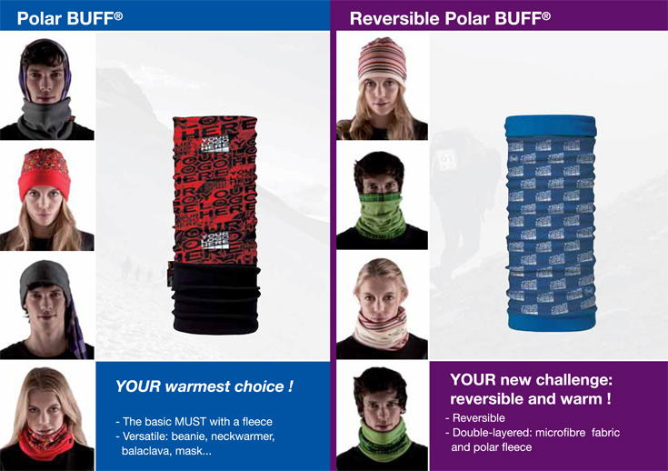 Polar och reversible buff