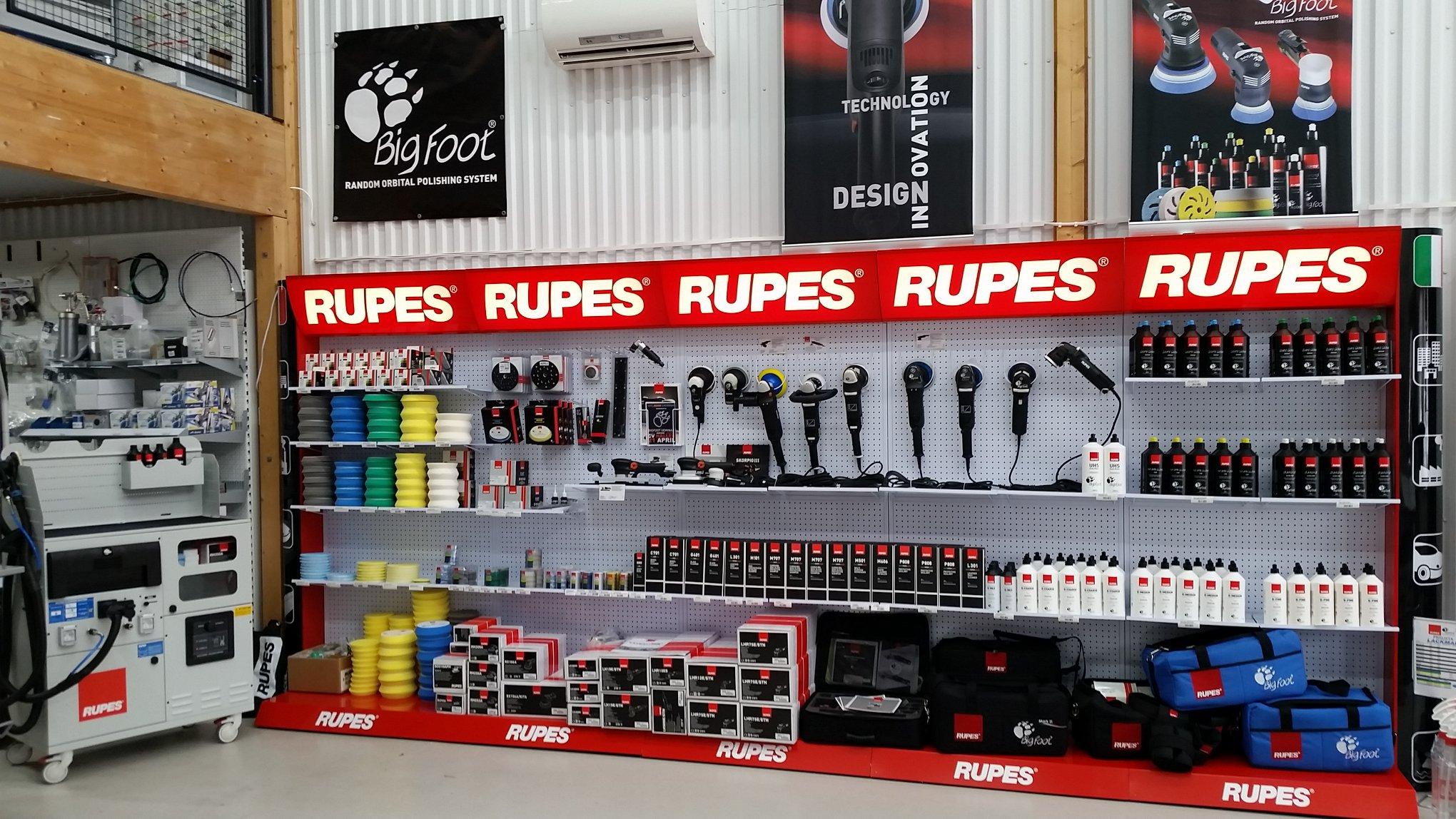 new styles bf0e8 b7e25 Sveriges största sortiment av Rupes produkter!