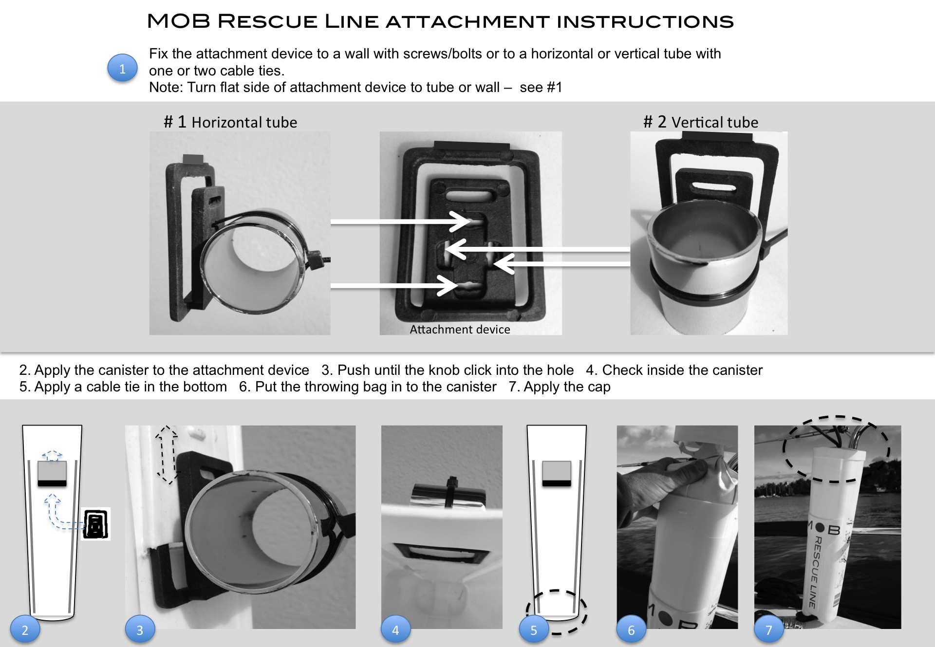 Attachment instructions