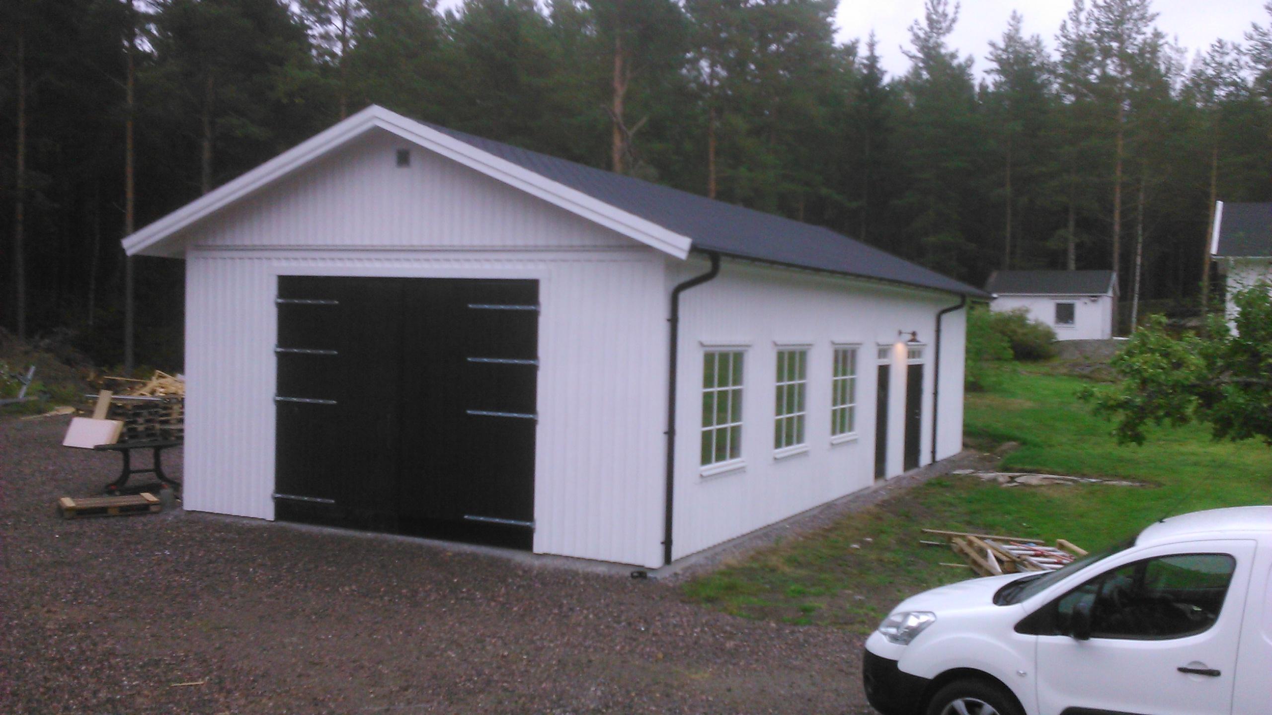 Garage Uterum Fönster Dörrar Portar Krukhus
