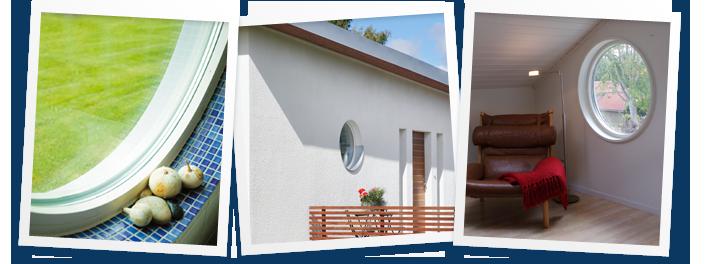 Fönster runda fönster : Fönsterbyte, (Montering) - KW Husprodukter