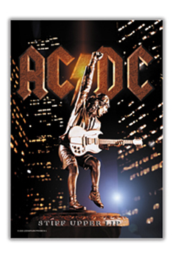 AC/DC Textile Poster Stiff Upper Lip 75 x 110 cm