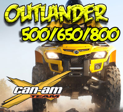 Can Am Outlander 06-11