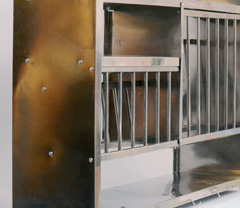 Shelf Stainless steel W92 x H79 Kitchen stand