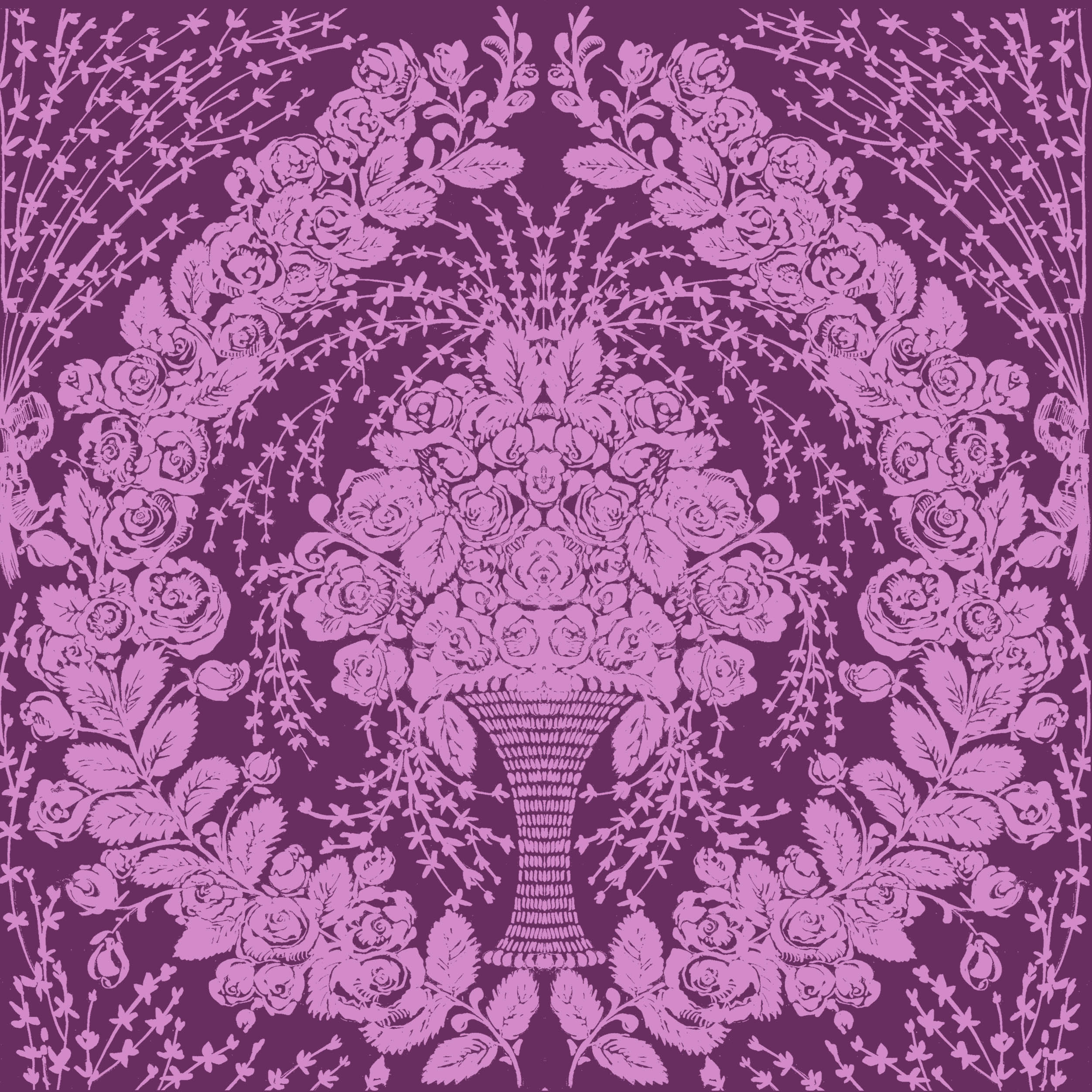 Vintage Rose Wallpaper Rose Vintage Violet