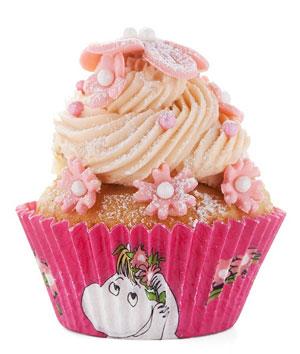 Muffinsform - Snorkfröken, rosa