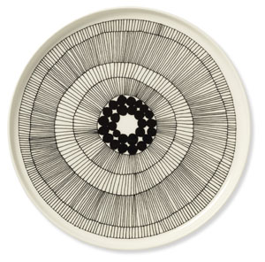 Marimekko keramik Tallrik mönstrad