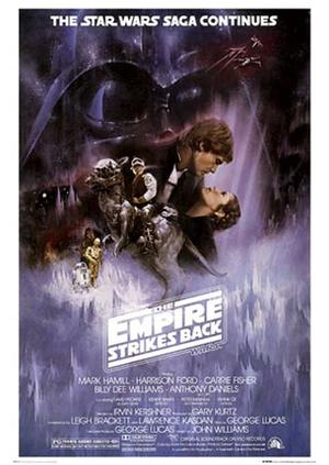 Poster: Star Wars - Empire Strikes Back