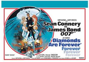 Poster: Diamonds Are Forever (James Bond)