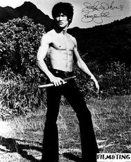 Autograf: Bruce Lee (Enter The Dragon)