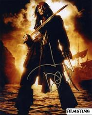 Autograf: Johnny Depp (Jack Sparrow)