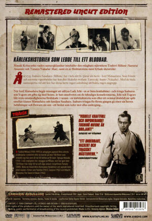 Samurai Rebellion - Uncut (DVD)