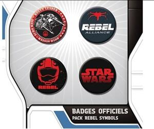 Star Wars - 4-Pack Märken / Rebel Symbols
