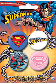 Superman - 4-Pack Märken