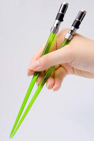 Star Wars - Yoda Lightsaber Chopsticks (Kotobukiya)