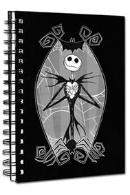 Nightmare Before Christmas - Jack Skellington Notebook A5