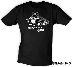 Blues Brothers - On a Mission from God - T-Shirt - (M)