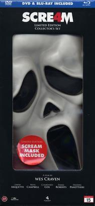 Scream 4 (Blu-ray + DVD): Ltd Mask