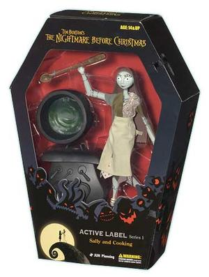 The Nightmare Before Christmas - Sally & Cooking Set