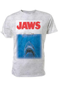 Jaws - T-Shirt (Movie Poster) (M)