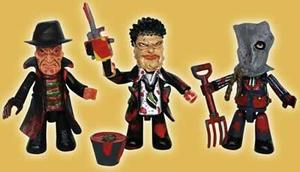 Cinema of Fear MEZ-ITS / 3-pack Jason,Letaherface,Freddy
