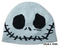 Nightmare Before Christmas - Jack Skellington Vändbar Mössa - Beanie