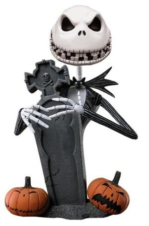 The Nightmare Before Christmas - Scary Jack Skellington - Head Knocker - Neca