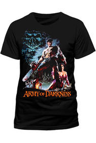 Army of Darkness - Smoking Chainsaw - (Evil Dead III) T-Shirt (M)