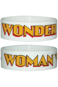 Armband: Wonder Woman - White Logo
