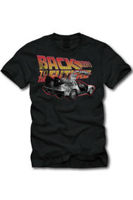 Back to the Future (Retro Logo) T-Shirt (M)