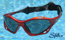 SeaSpecs Copper Blaze Specs Solglasögon, Orange