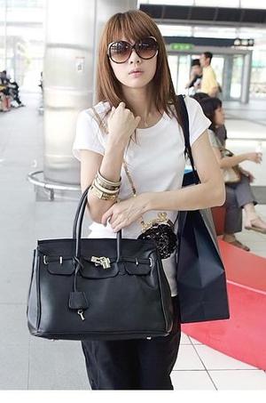 High Fashion bag black