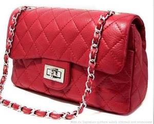 Fashion shoulder bag red