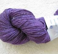 Hand dyed sock yarn bambu pinkpurple