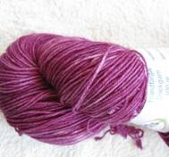 Hand dyed sock yarn cerice