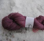 Hand dyed Babyalpaca silk pink